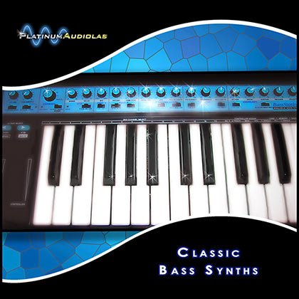 Classic Bass Synths Sample Library