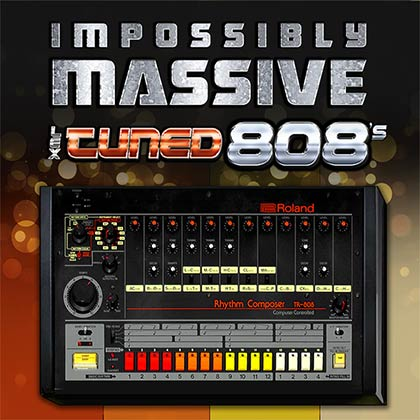 Impossibly Massive Lex Tuned 808s Sample Library