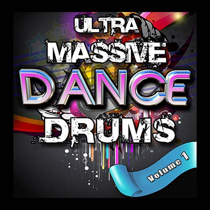 Ultra Massive Dance Drums Sample Library