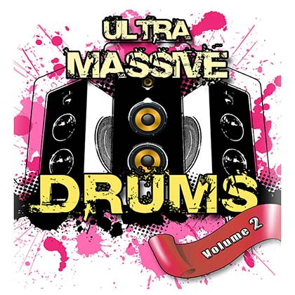 Ultra Massive Hip Hop Drums V2 Sample Library