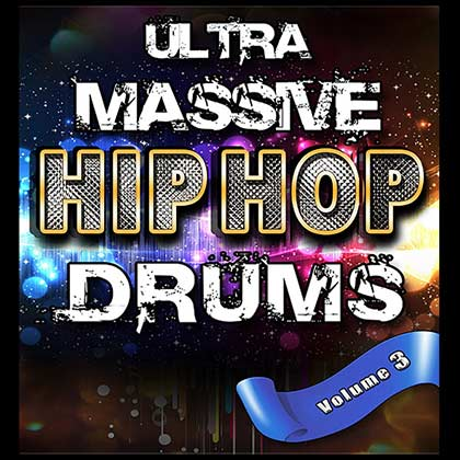 Ultra Massive Hip Hop Drums V3 Sample Library