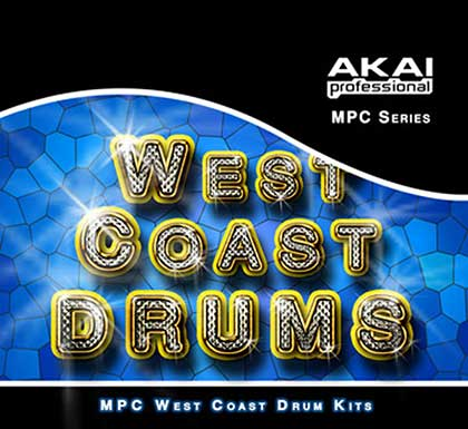 West Coast Hip Hop Drums [MPC/MV] Sample Library